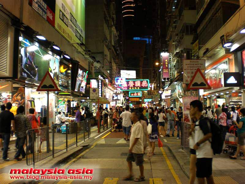 0a4287abb2dd47 Sports Shoe Street in Mongkok Hong Kong - Malaysia Asia Travel Blog