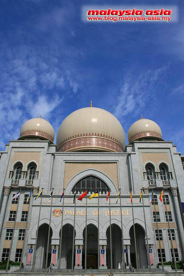 Palace of Justice in Putrajaya
