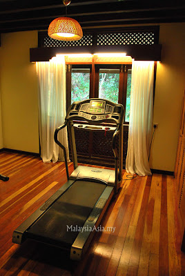 Fitness Center Rebak Island Resort