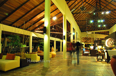 Lobby of Rebak Island Resort