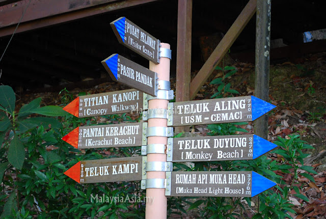 Directions Penang National Park