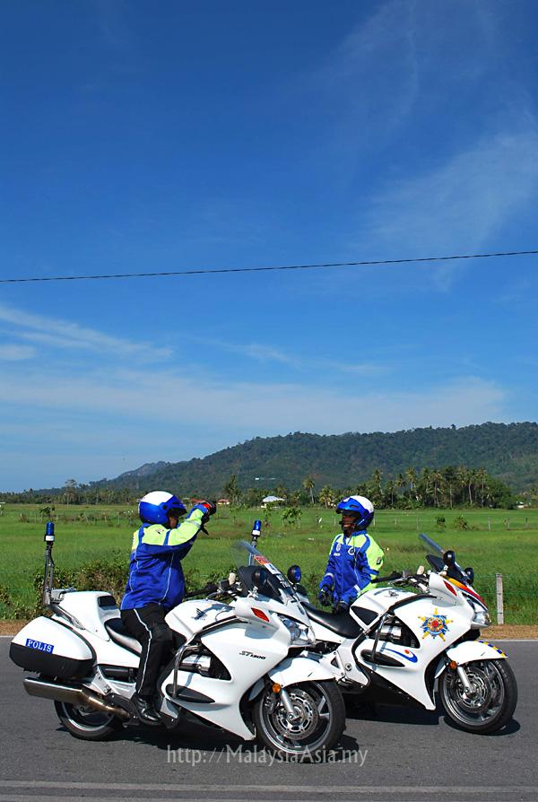 Police Motorbikes Malaysia