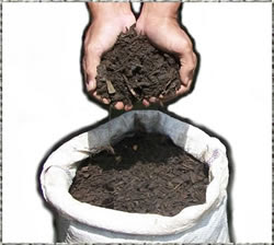 kompos dalam karung