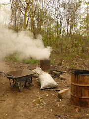Do-It-Yourself Small Scale Charcoal Making