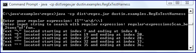 Inspired by Actual Events: Regular Expressions in Groovy