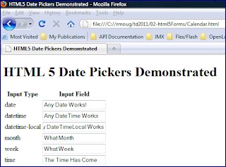 HTML5 Date Picker | JavaWorld