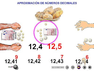 Resultado de imagen de APROXIMACION con decimales