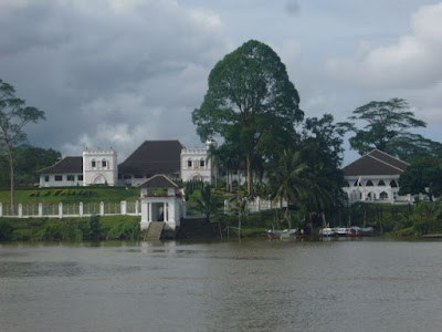 castle by the Sarawak River, Kuching