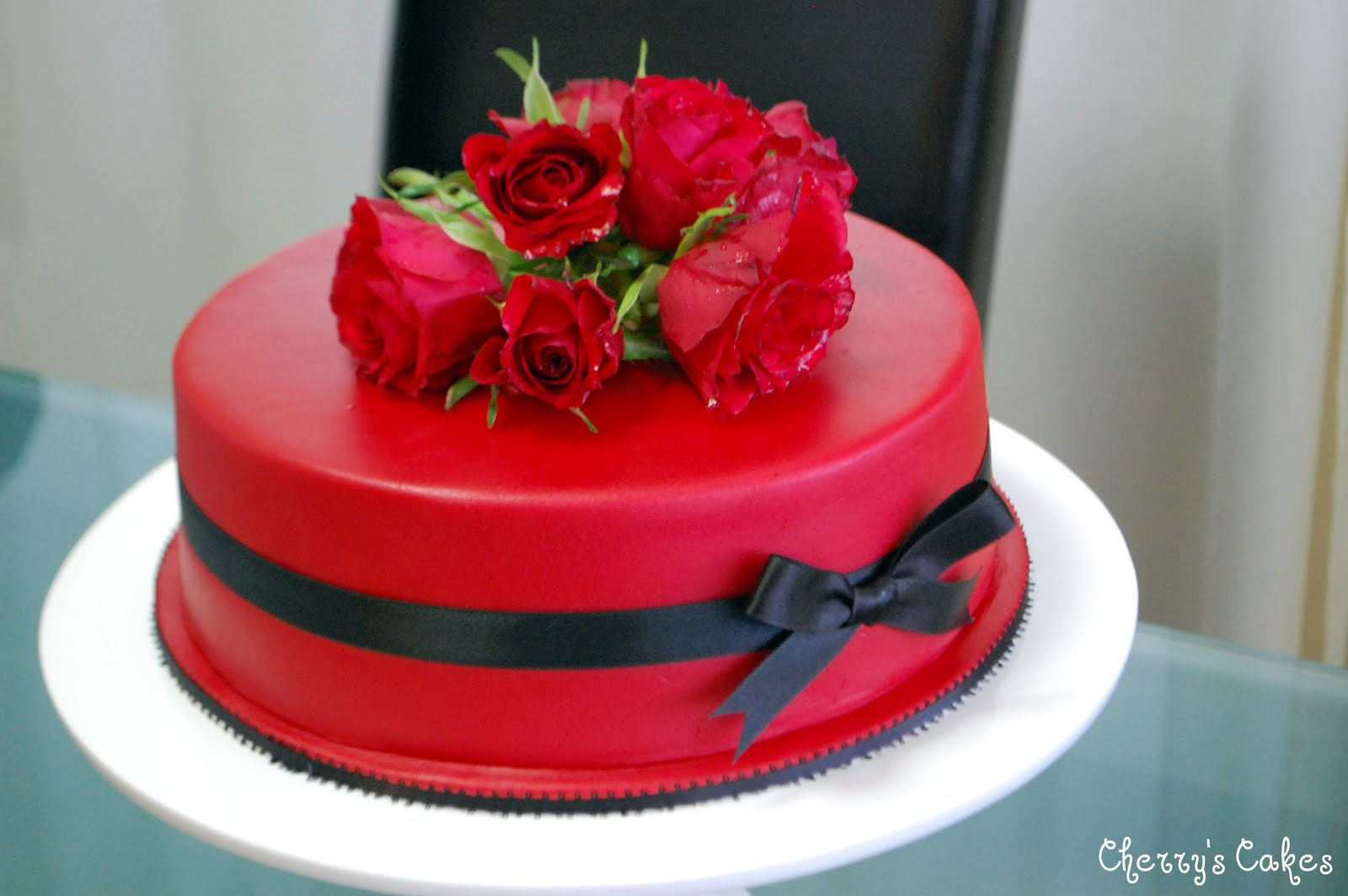 The Beancounter A Red Cake For A Strong Woman