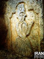 نقشهای سنگی ی حسینیه حبیبی