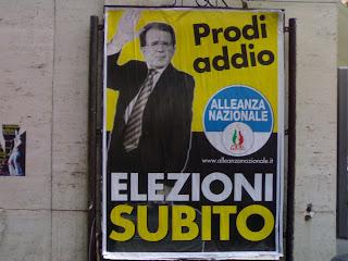 alliance nationale, romano prodi, rome, rome en images, italie