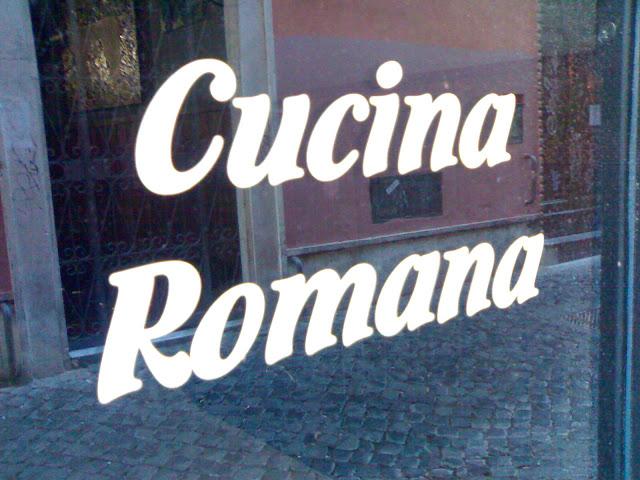 cucina romana, rome, italie, rome en images