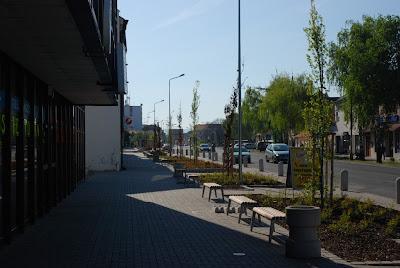 Záhorácka ulica - pol roka po rekonštrukcii