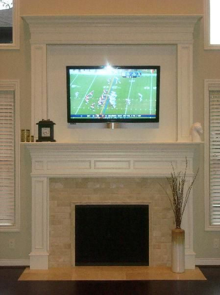Drywall Finished Fireplaces