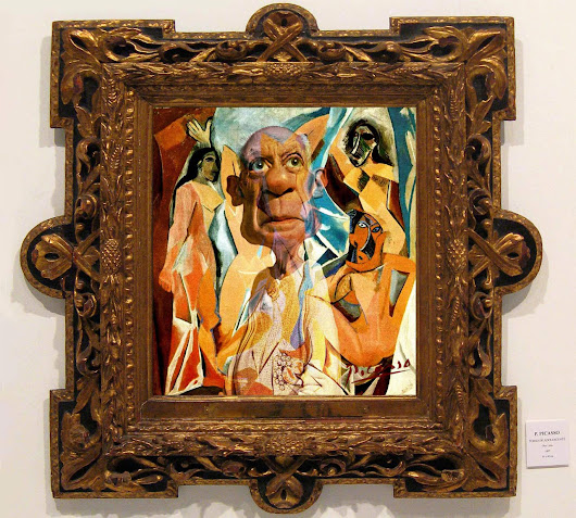 Pablo Framed - Rodney Pike Humorous Illustrator