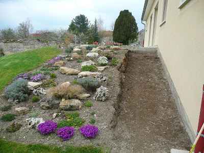 Notre jardin secret.: Les avancées au jardin...