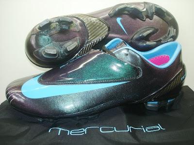 sports shoes 19b8e ef8e0 NIKE MERCURIAL VAPOR IV FG VIVID BLUE