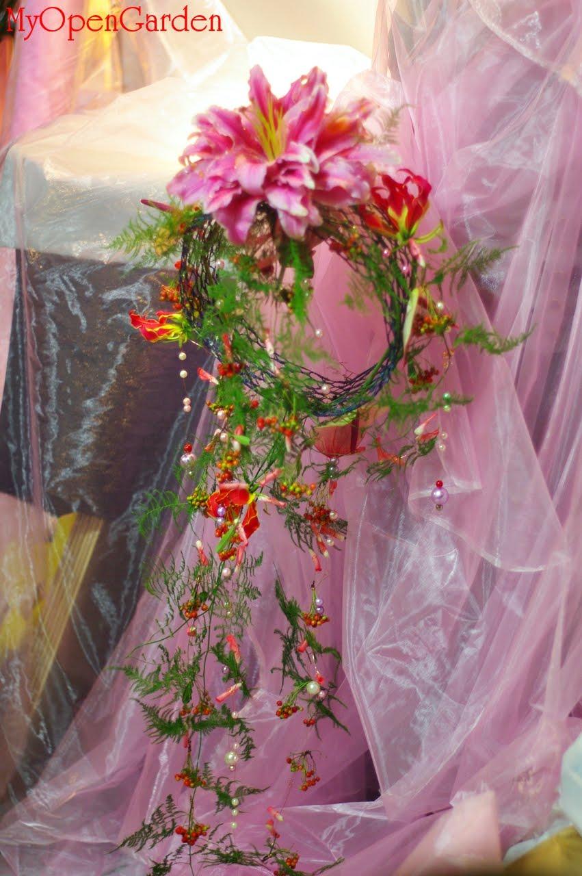 Open Garden: 德國花藝設計師專業證照班作品---新娘捧花設計