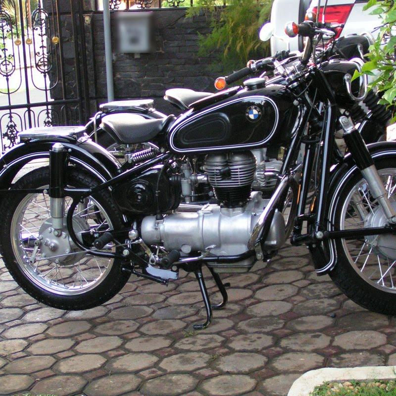 Dijual motor bmw r50 #5