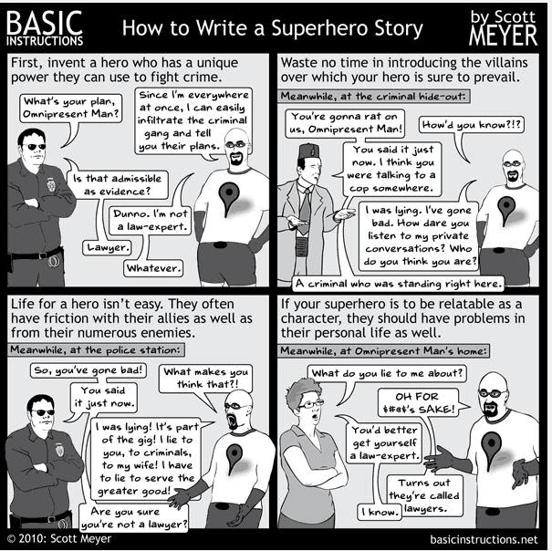 How to Write a Superhero Novel