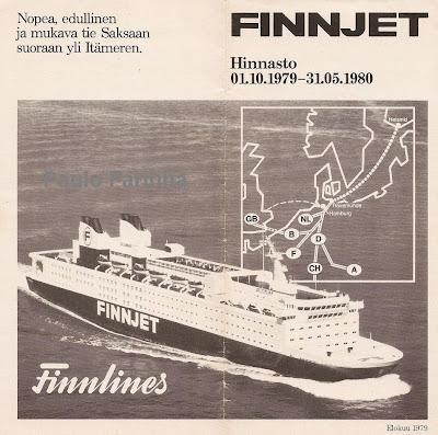 postkaart Finnjetist