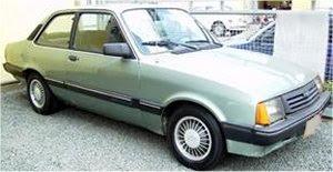 Chevette Sedan (após principal reestilização)