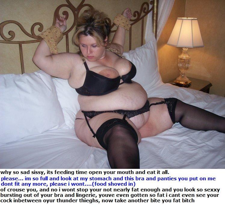 Ideal answer tg captions fat bitch