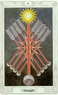 Tarot Notes: Nine of Wands - Astrological Associations