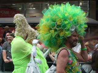 Светлана Алликас Гей парад Лондон 2008