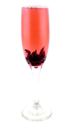 Kahakai Kitchen Hibiscus Flower Champagne Cocktails Elegant