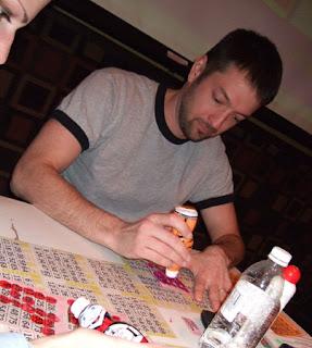Bubala likes bingo!