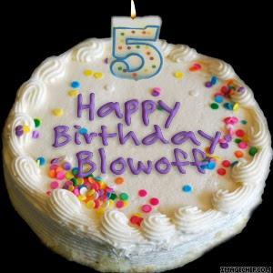 Happy Birthday Blowoff!