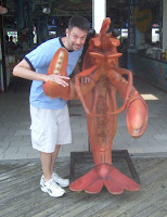 Attack of the giant crawfish!
