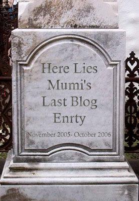 Here Lies Mumi...