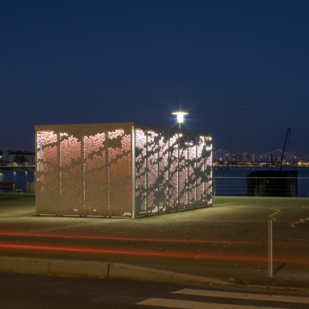 Container Now Kiosque Saint Nazaire By Topos Architecture
