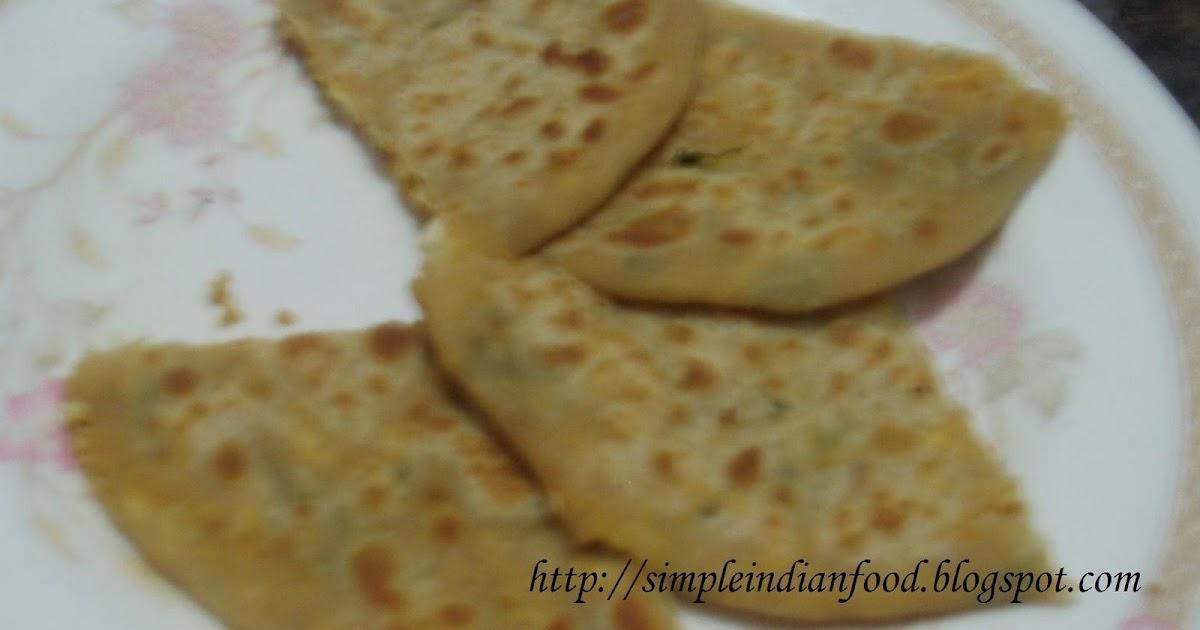 how to make chilli paratha
