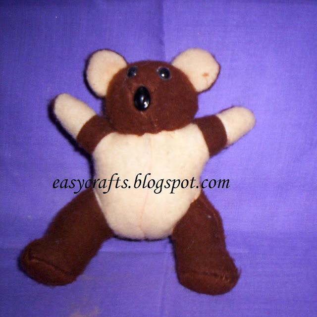 Easy crafts - Soft Toys: Teddy Bear