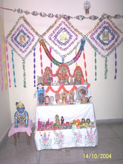 Craft Ideas Navratri on Food  An Easy Cooking Blog  Navratri Celebrations   Golu At Chandigarh