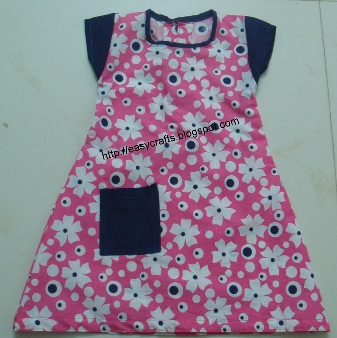2d084dfd0408 Easy Crafts - Explore your creativity  Simple frock