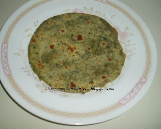 Simple Indian Food- An Easy Cooking Blog: Mint (Pudina) Lachha Paratha