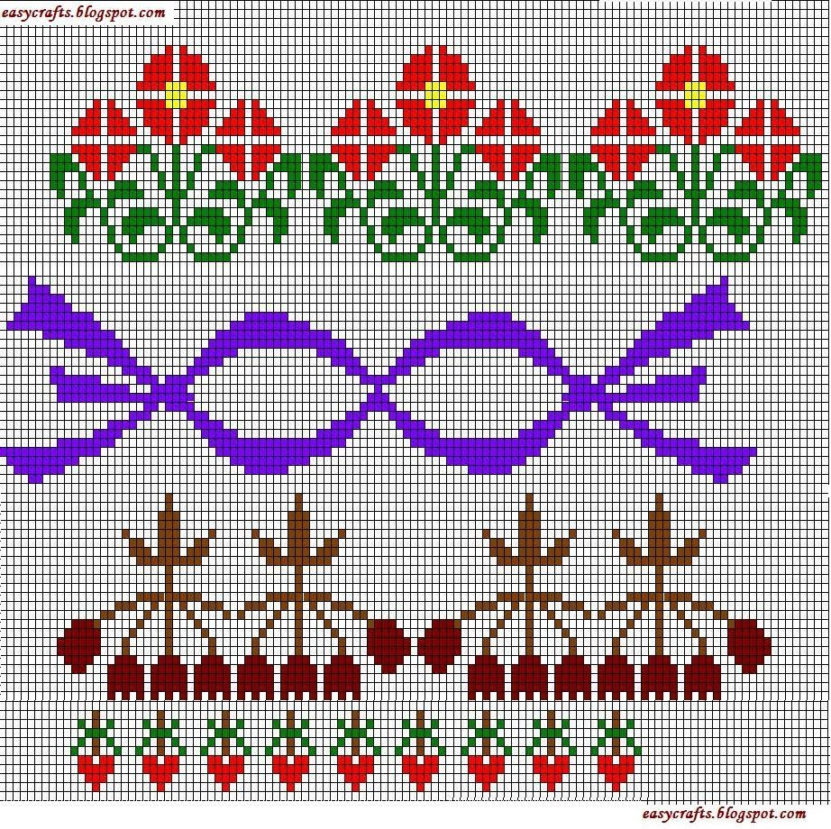 Easy Crafts Explore Your Creativity Cross Stitch Borders