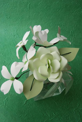 The Constant Gatherer: aNeMonE Handmade Paper Flowers