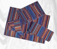 modni peskir sa mnogo boja - duzinske boje