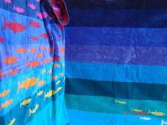 modni peskir za plazu Maldivian