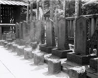 Graves os the 47 ronin at Sengaku-ji