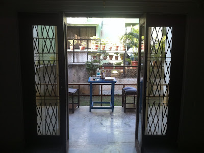 Pune India home patio