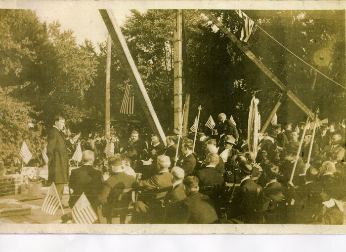 Laying Masonic Temple Cornerstone-1914