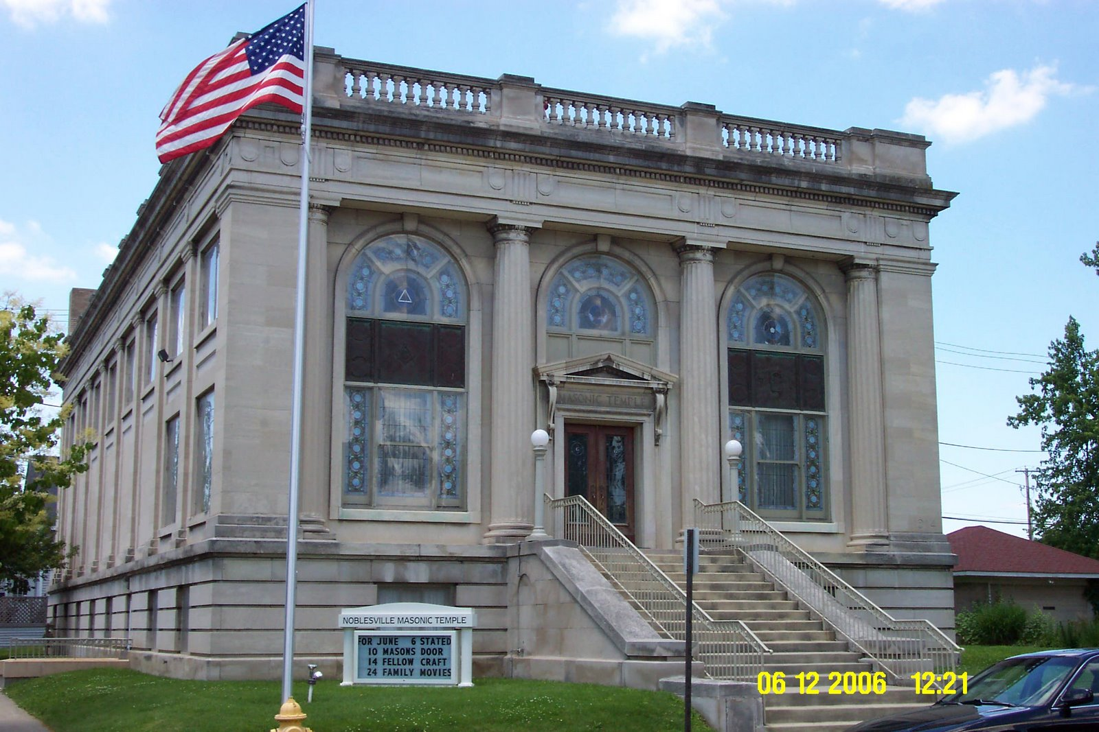 Noblesville Masonic Temple Dedicated 1915