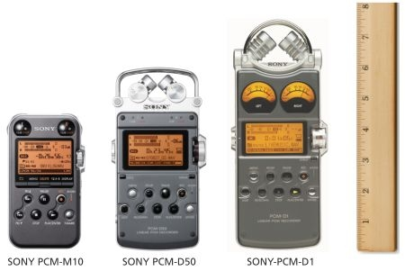 Sony PCM-M10 handheld audio recorder reviewed