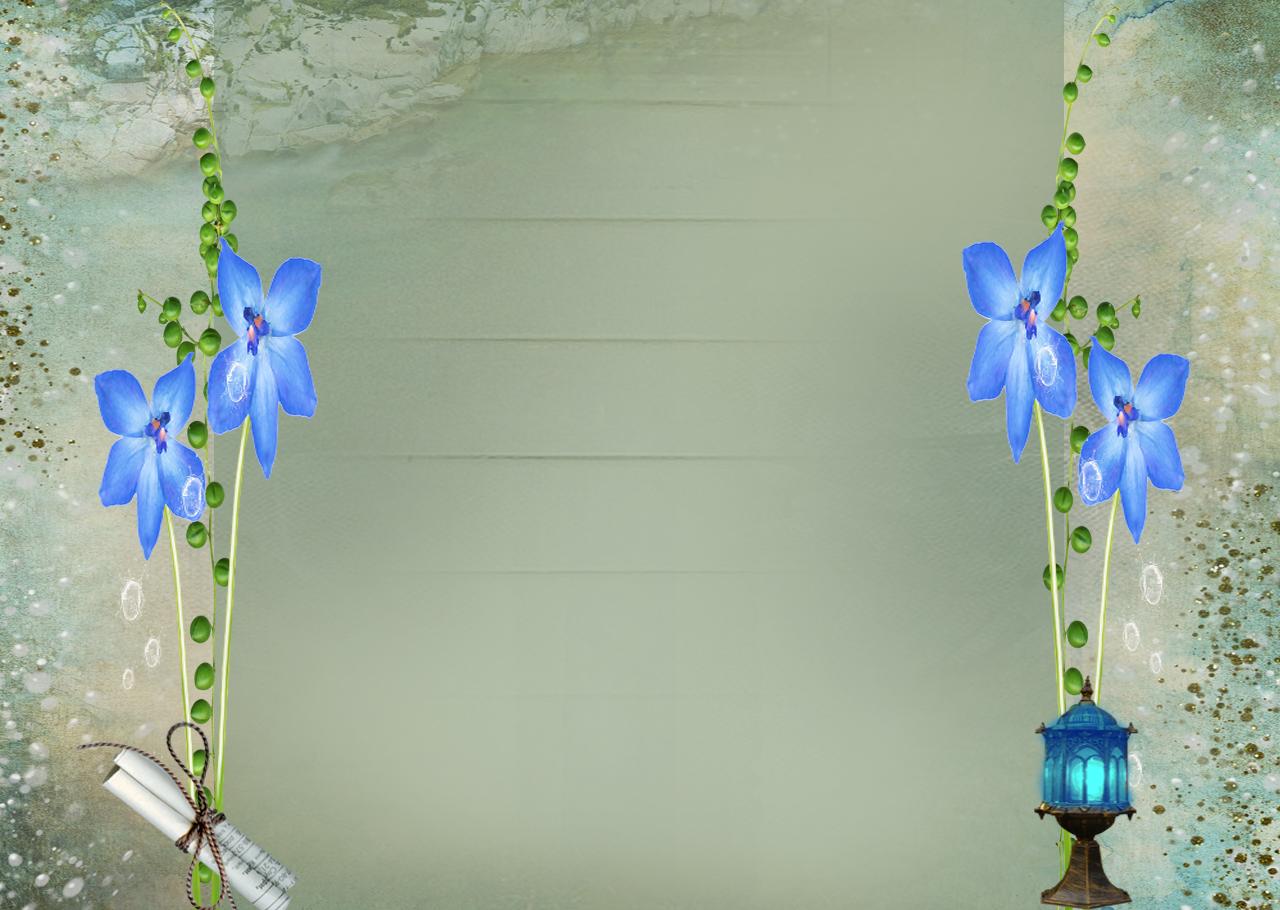 Fondos De Flores Azules